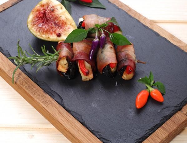 Suve šljive u slanini