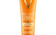 Vichy_Ideal Soleil obojena zaštitna krema 3u1 SPF 50+protiv tamnih fleka_fotografija 02