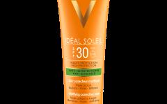 Vichy_Ideal Soleil matirajuća korektivna nega protiv nepravilnosti SPF 30