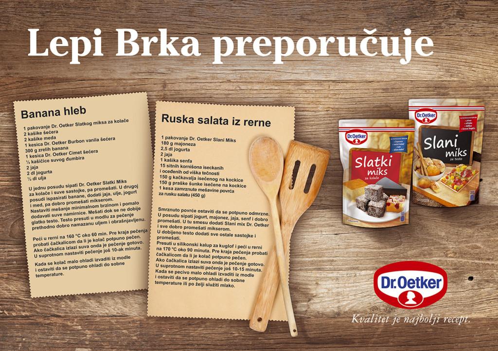 Dr Oetker - Lepi Brka recepti za Slani i Slatki mix A5