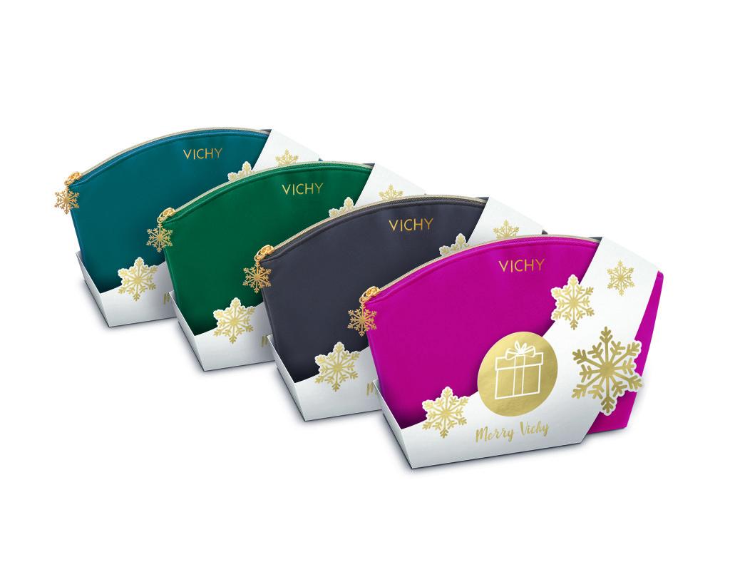 Vichy_Xmas plišana torbica_sve boje