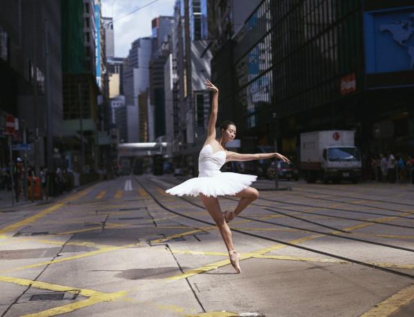 HKB predstava na ulici