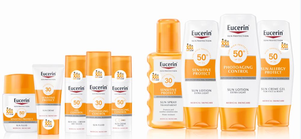 Eucerin zastita od sunca za lice i telo