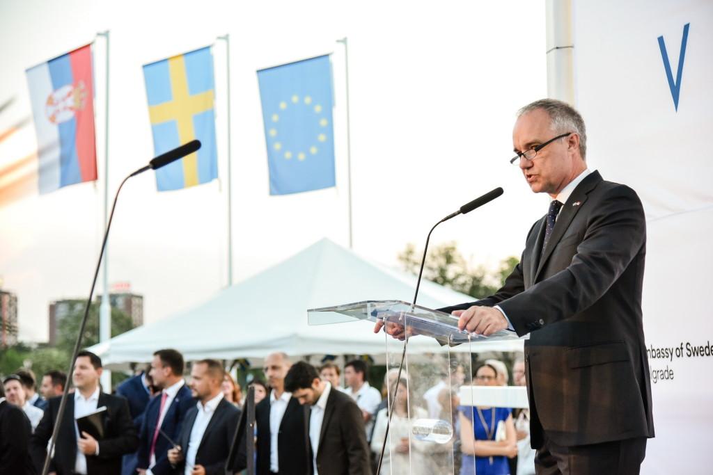 Ambasador Svedske Jan Lundin FOTO Z Petrovic