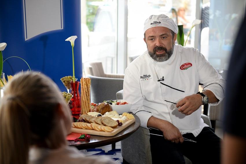 Dejan Stanković, glavni kuvar restorana Mozzarella