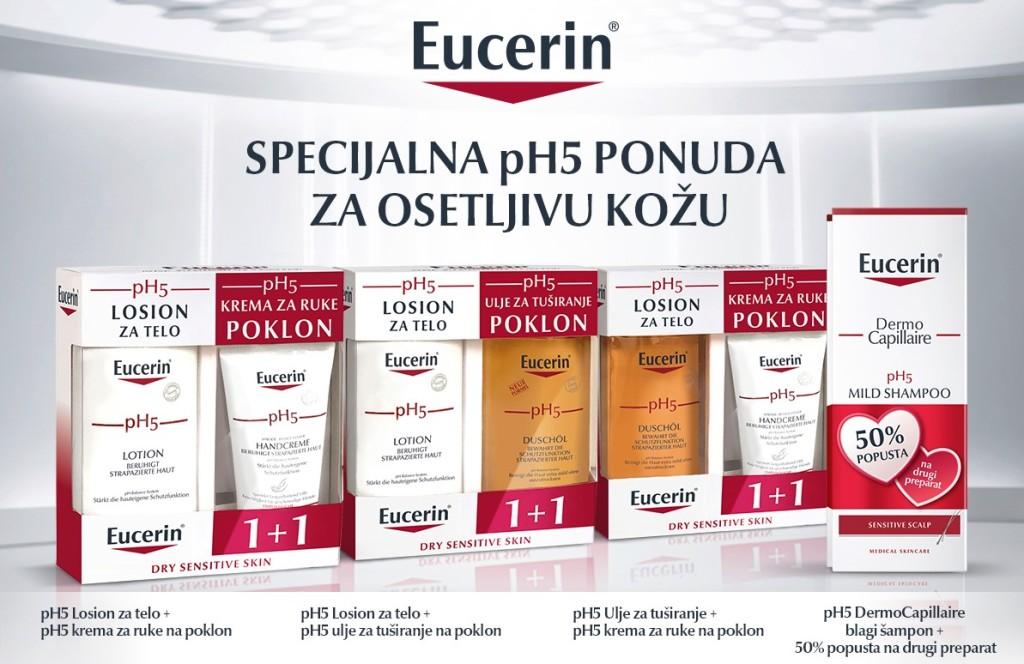 Eucerin pH5 specijalna pakovanja