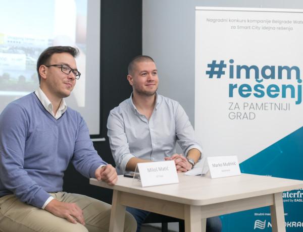 Miloš Matić (ICT Hub) i Marko Mudrinić (Netokracija)