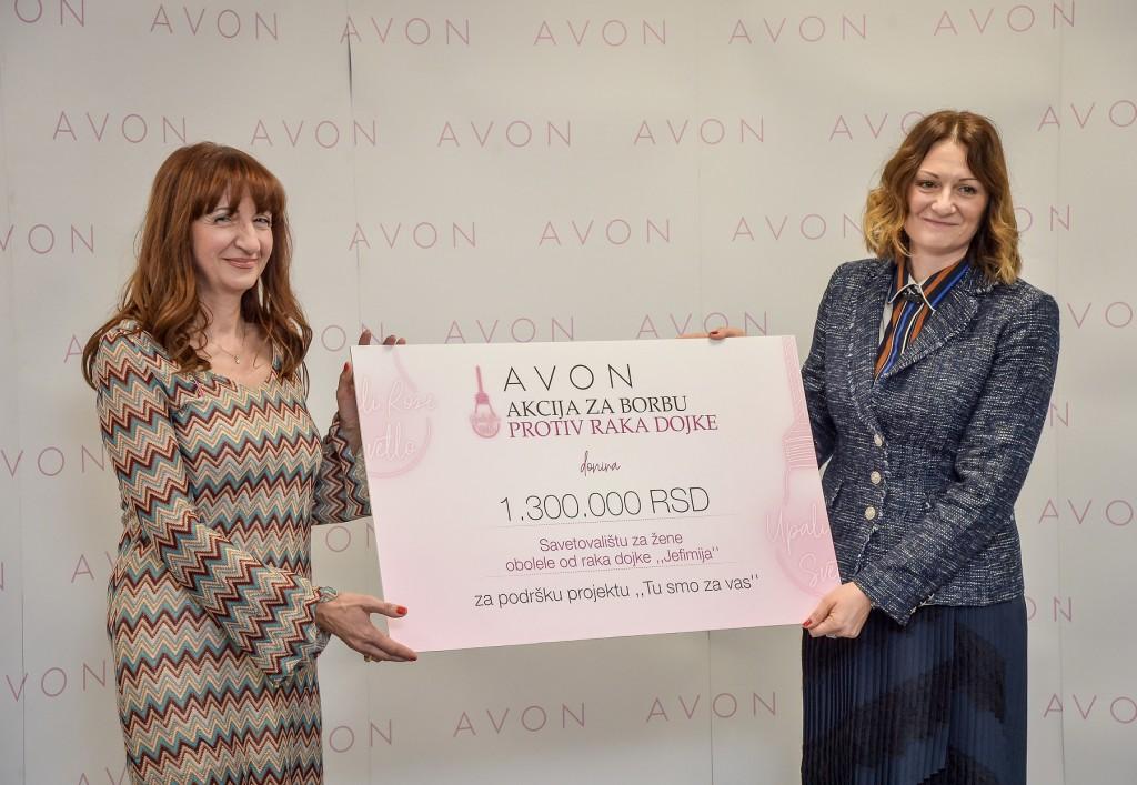 Slavica Simic, direktorka Savetovalista Jefimija i Miroslava Marjanovic Pavlovic, direktorka kompanije Avon za Jadranski region (2)